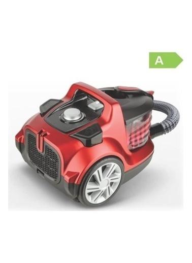 Fakir Fakir Veyron Turbo XL Premium Toz Torbasız Elektrikli Süpürge Kırmızı Renksiz